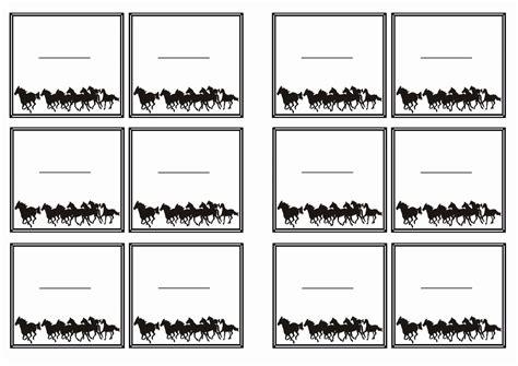 printable horse name tags horse name tags birthday printable