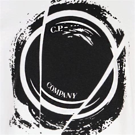 Cp Black White Bt49 cp company boys white sleeve t shirt with black logo print cp company from chocolate