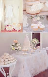 pinke dekoration vintage pink christening baptism planning ideas