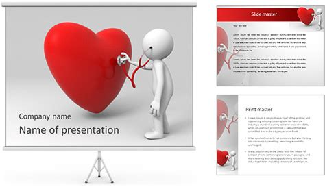 Visit Cardiologist Powerpoint Template Backgrounds Id Cardiology Powerpoint Template