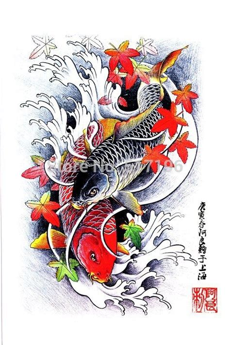 tattoo design books pdf 1000 images about koi on pinterest japanese koi fish
