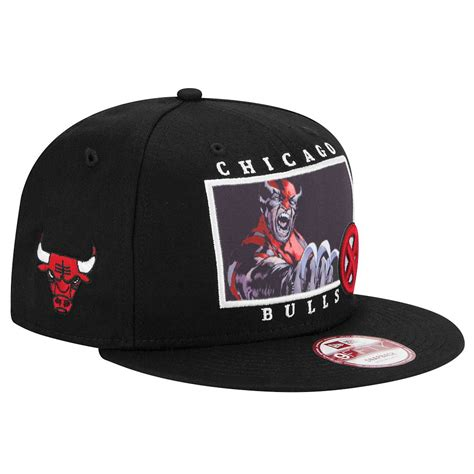 Snapback Wolverine new era nba 9fifty marvel snapback chicago bulls wolverine
