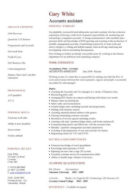 Accounting Student Resume Sample by Financial Cv Template Business Administration Cv