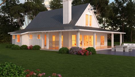 97 single story farmhouse with wrap around porch single