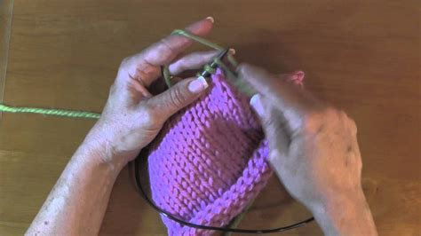 how to knit an attached i cord attached i cord tecnicas de tejido