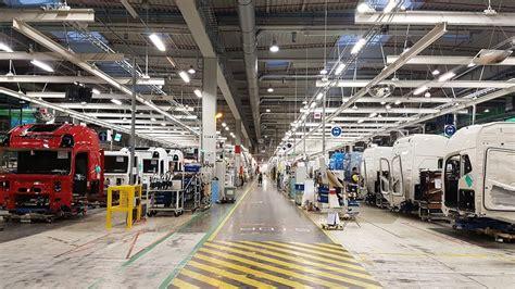 volvo truck factory sweden itsmydrive fabrieksbezoek volvo trucks gent youtube