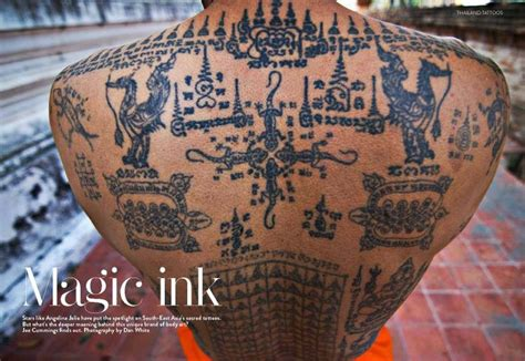 thai magic tattoos the and influence of sak yant books muay thai on thai boxing and thailand