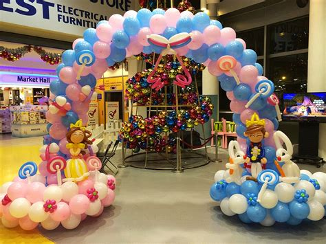 balloons booth different types of balloon decorations
