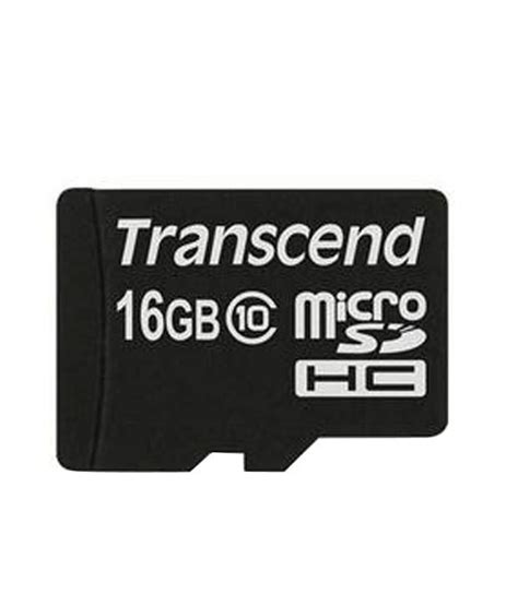 Micro Sd 16gb transcend microsd 16gb class 10 memory card buy transcend microsd 16gb class 10 at best