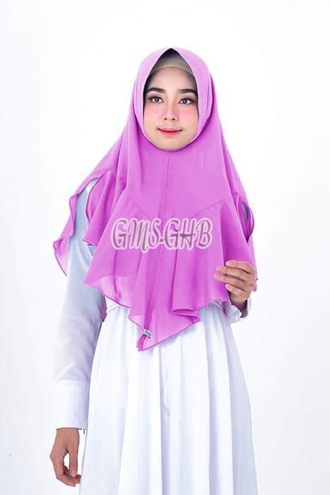 Real Picture Sulisty Nonpet Jilbab Syari Khimar jilbab khimar syar i dealova terbaru 2018