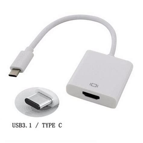 Usb 3 1 Type C To Hdmi Adapter Converter usb 3 1 type c to hdmi adapter converter white jakartanotebook