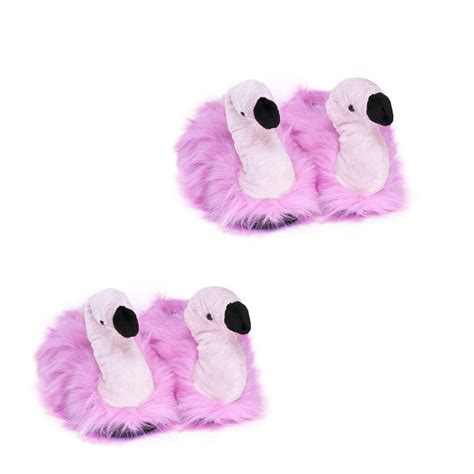 plush slippers for flamingo plush slippers for adults and children