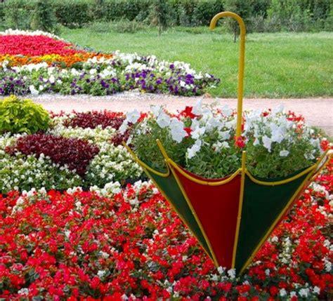 diy make creative planters from umbrellas