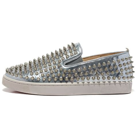 sneakers with spikes 2015 bottom sneakers with spikes flat shoes patent