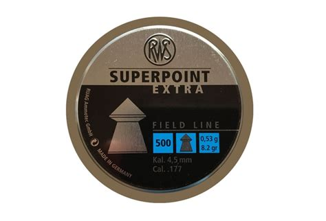 Rws Superpoint Rws Point 45mm k 248 b rws hobby 4 5 mm 7 0 grain billigt p 229 tilbud