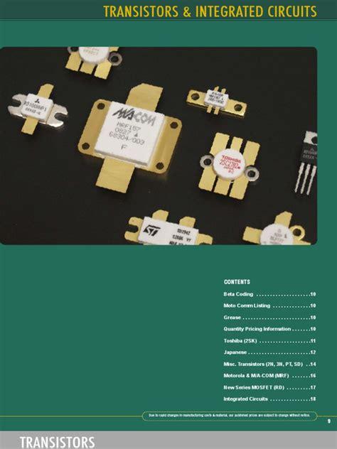 transistor m1104 datasheet 009 transistors and integrated circuits
