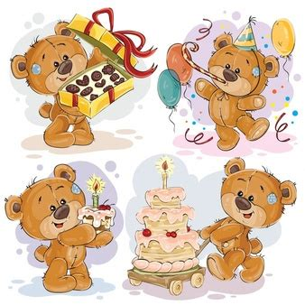 clipart compleanno teddy vectors photos and psd files free