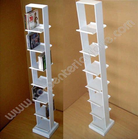 libreria a colonna libreria a colonna in acciaio h 120 5cm formata da 7