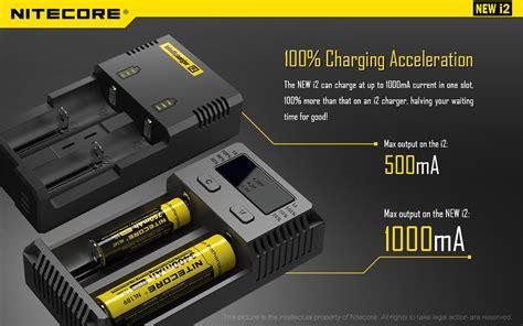 Promo Nitecore Intellicharger Universal Battery Charger 2 Slot nitecore intellicharger universal battery charger 2 slot