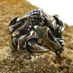 Cincin Independent Ring Rider cincin stainless keren model jari tengkorak ukuran 11 us