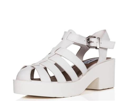 shoes white white shoes platform shoes chunky sole
