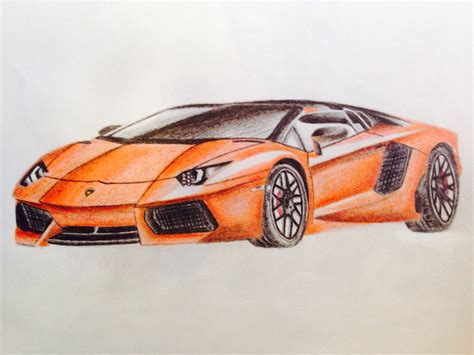 car lamborghini drawing a4 lamborghini car drawing patelmanu7 foundmyself