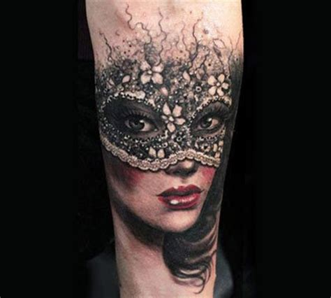tattoo eye mask 8 amazing masked girl tattoos
