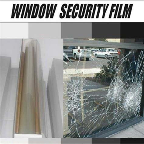 Shatter Proof Home Windows Decor 20inx10ft 50cmx300cm Shatter Proof Window Security And Safety Window For Building