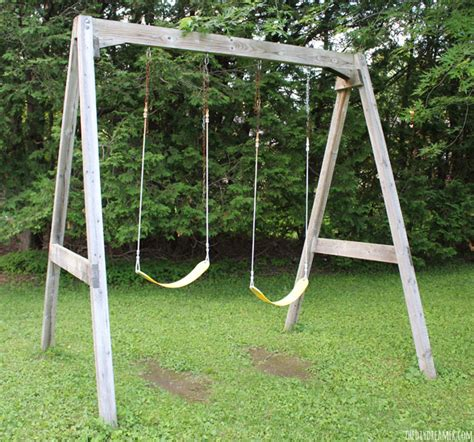 old swing set swing set old to new with paint