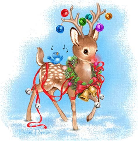 christmas reindeer graphic animated gif graphics