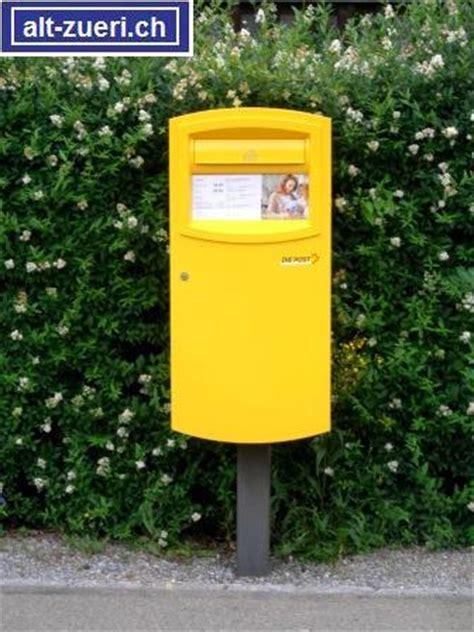 Post Schweiz Brief Tarif Dur Alt Z 252 Ri Die Verschiedenen Briefk 228 Sten Der Post