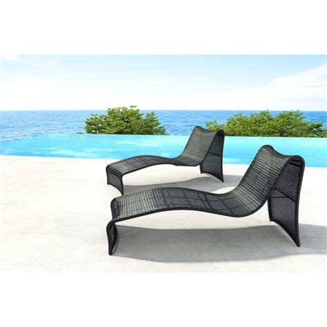 beach chaise zuo rocky beach aluminum outdoor chaise lounge 703842