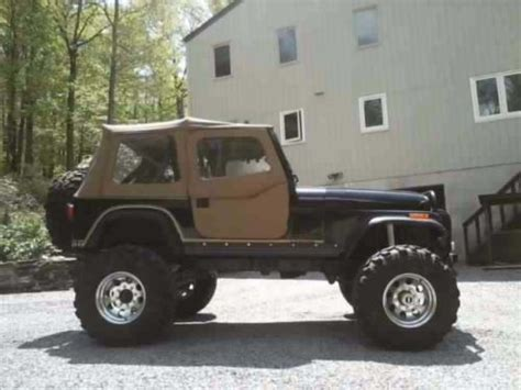 Jeep V8 For Sale Buy Used 1978 Jeep Cj7 V8 60 Axles In Union New