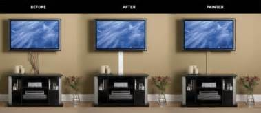 How To Hide Wires From Wall Mounted Tv How To Hide Tv Cords In Student Housing Business Wire