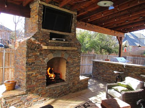outdoor fireplace inspiration pictures texas best fence