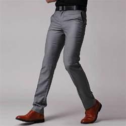 men s slim fit business dress pants casual suit pants us