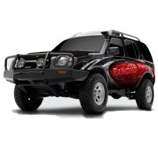 "nissan xterra 2.5"" lift kit by rancho, 2000, 2001, 2002"