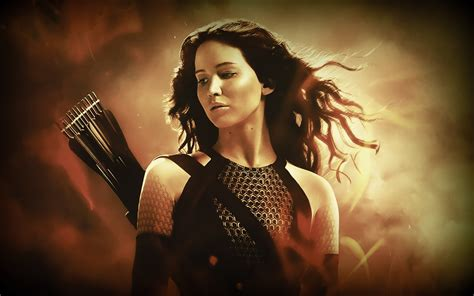 hunger games mockingjay themes new wallpaper of jennifer lawrence as katniss in catching