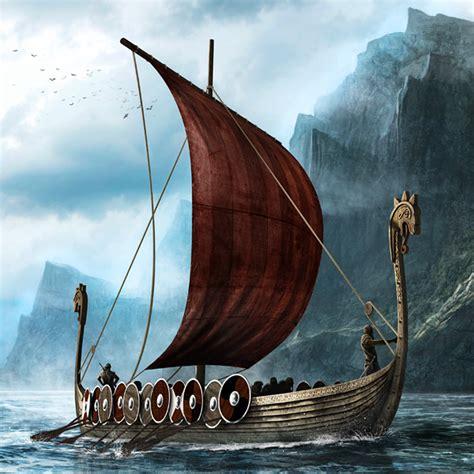viking longboat net longboats on behance