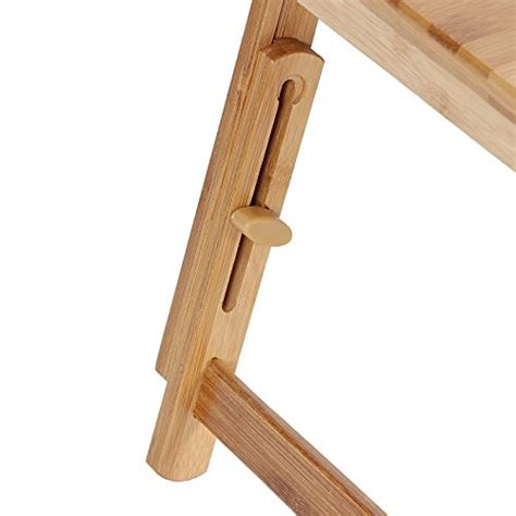 songmics bamboo laptop desk songmics ulld001 bamboo laptop desk serving bed tray