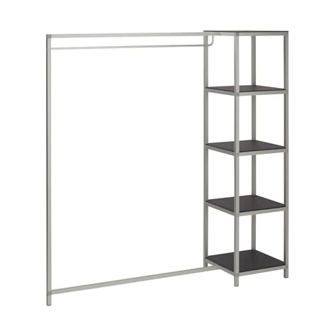 Shelf Clothes Rack by Clothing Rack With Shelf Vkf Renzel Uk