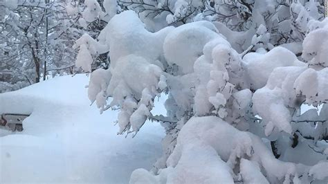 picture of snow erie breaks pennsylvania s two day snowfall record cnn