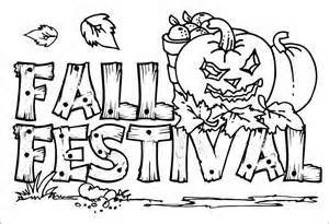 Fall Festival Coloring Pages fall festival coloring pages cooloring