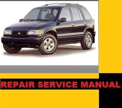 how to download repair manuals 2001 kia sportage windshield wipe control kia sportage 95 96 97 98 99 2000 2001 2002 repair service manual i