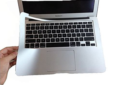Trackpad Palmguard Macbook hqf silver palmguard with trackpad protector