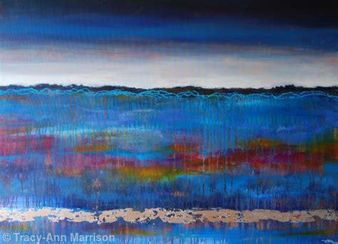 Abstract Landscape Uk Blue Landscape Contemporary Abstract Landscape Original