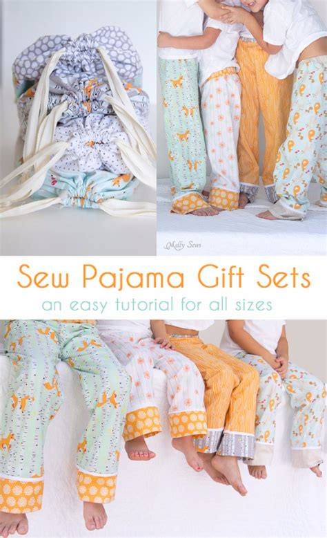 diy pajama 34 diy gifts you can sew for friends and family