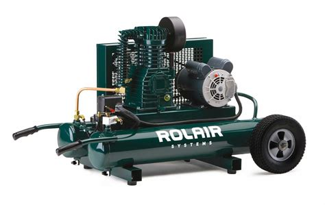 wheeled electric compressors products rolair systems