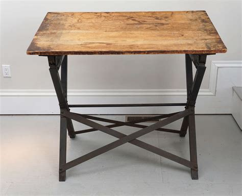 1900s 1920s Industrial Drafting Table At 1stdibs 1920s Drafting Table