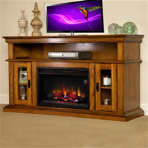 Electric Entertainment Fireplace by Brookfield Electric Fireplace Entertainment Center In